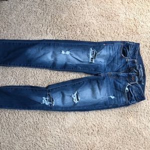American eagle super super stretch jeans